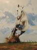 Rennendes Pferd