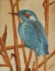 Vogel im Schilfrohr